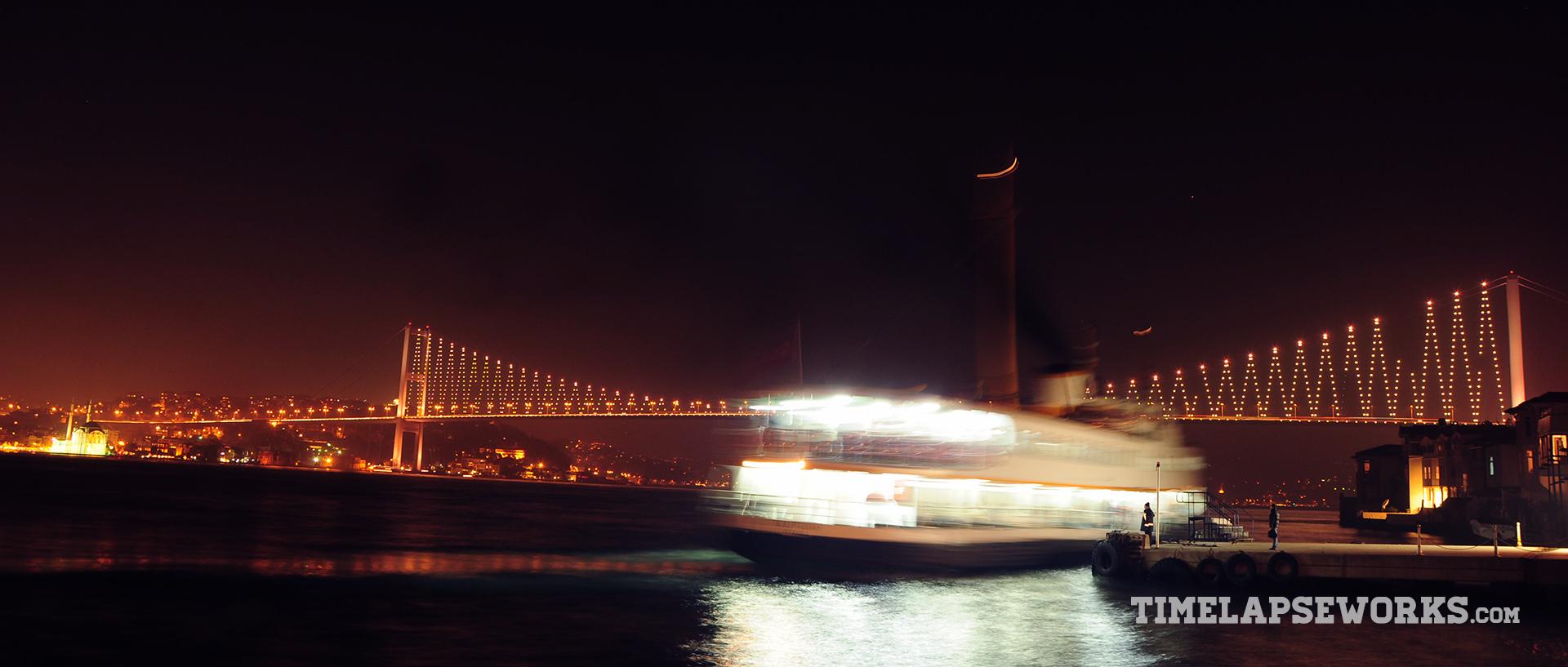 istanbul timelapse // istanbul in motion // bosphorus bridge, bosphorus