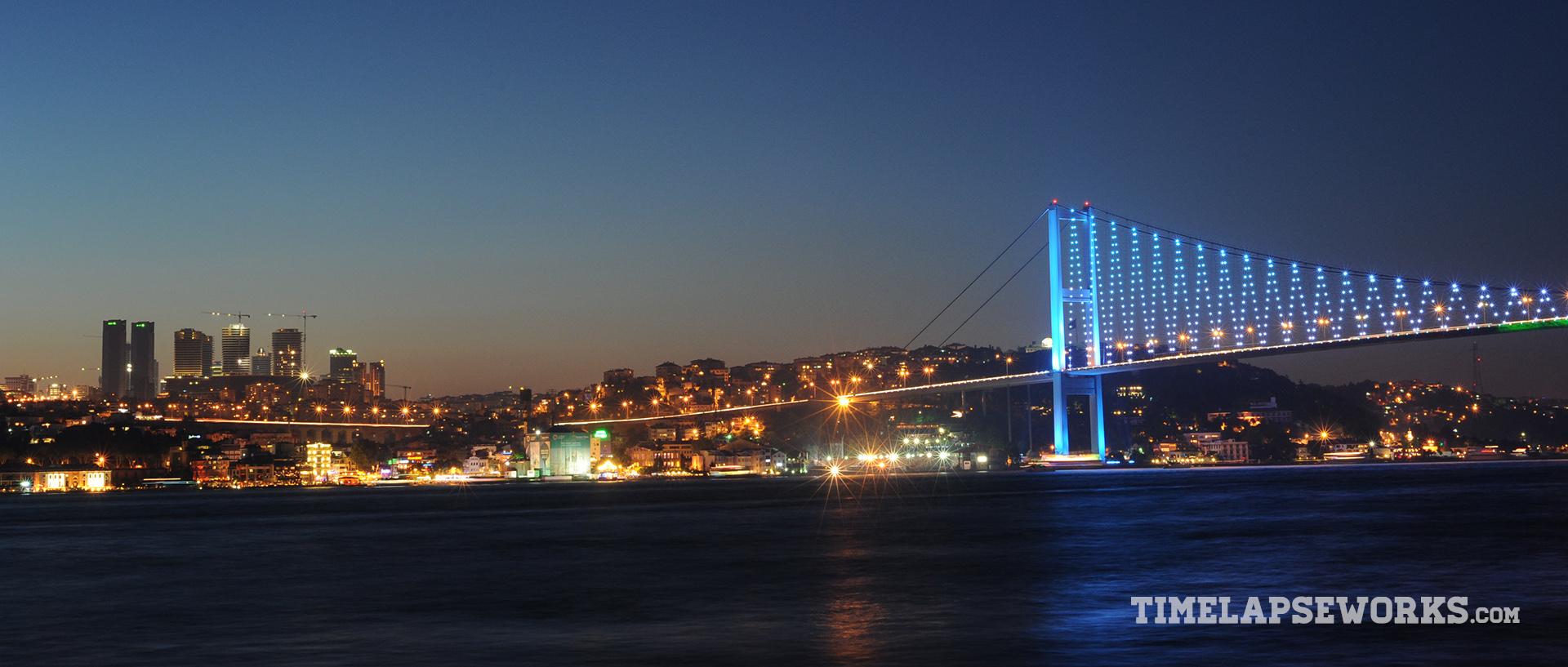 istanbul timelapse // istanbul in motion // bosphorus bridge