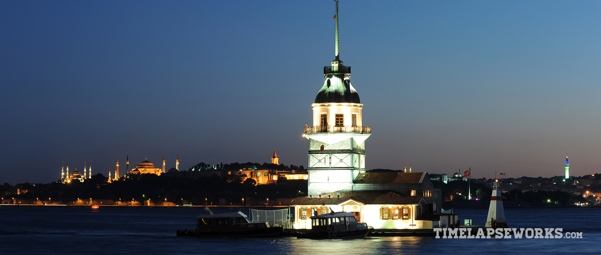 istanbul timelapse // istanbul in motion // maiden's tower